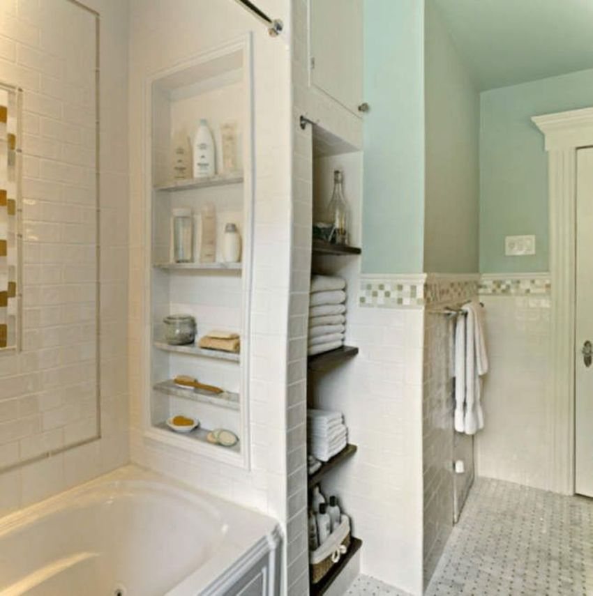 Amazing Bathroom Storage Design Ideas For Small Space 12