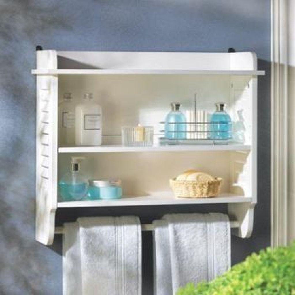Amazing Bathroom Storage Design Ideas For Small Space 26
