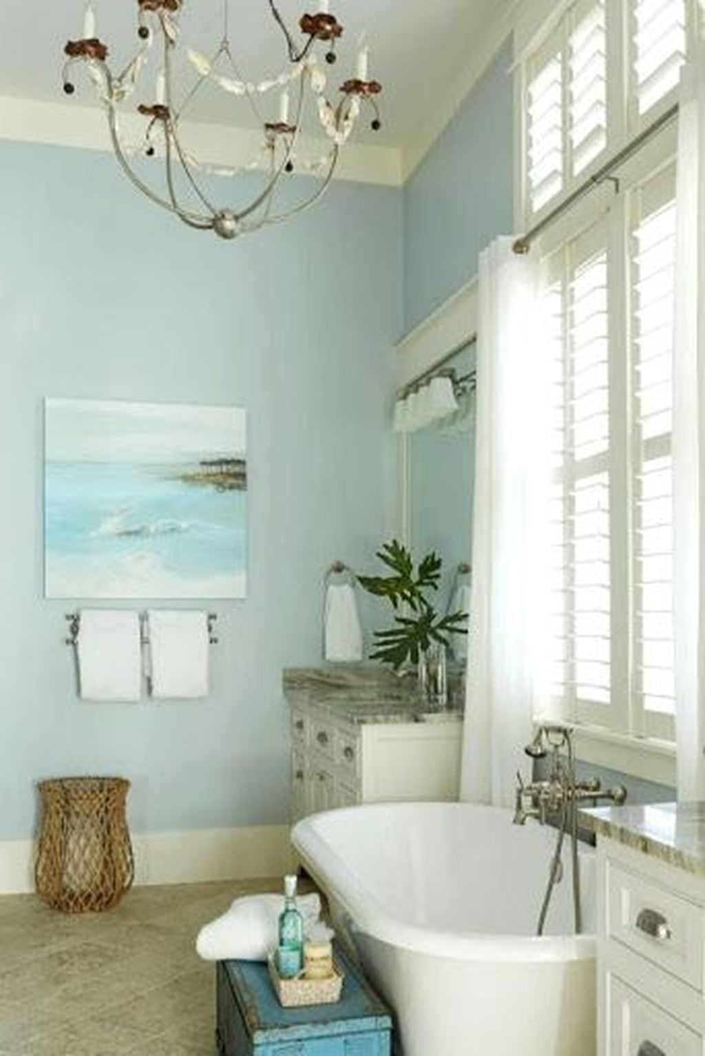 Amazing Beach Bathroom Decoration Ideas 14