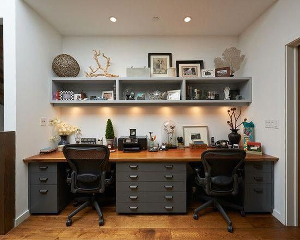 Amazing Contemporary Home Office Design Ideas 05