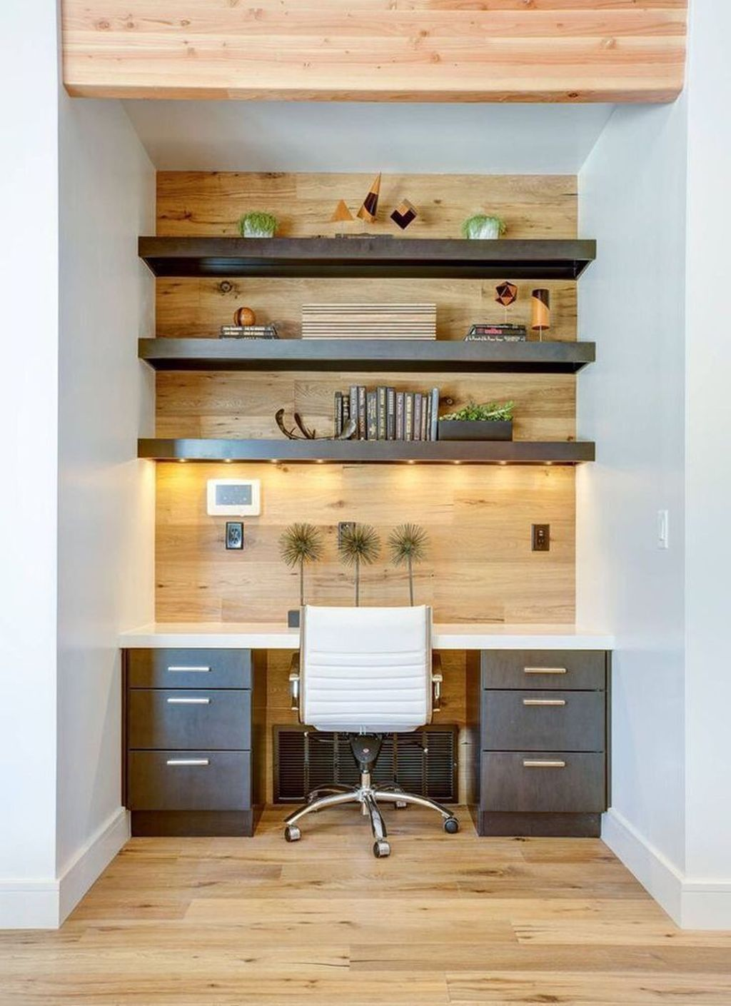 Amazing Contemporary Home Office Design Ideas 07
