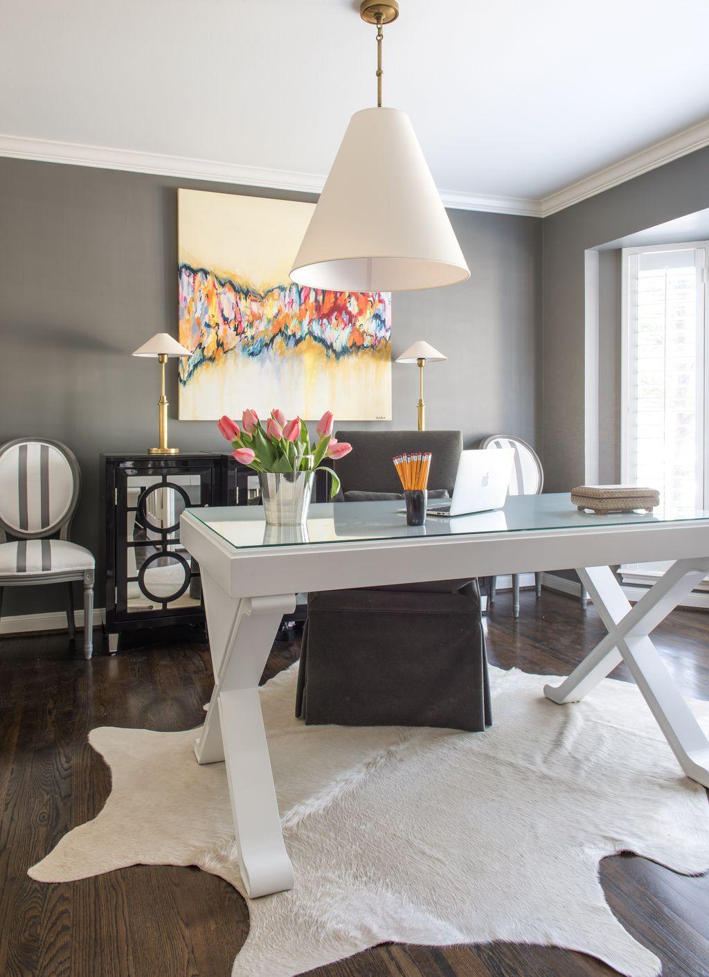 Amazing Contemporary Home Office Design Ideas 09