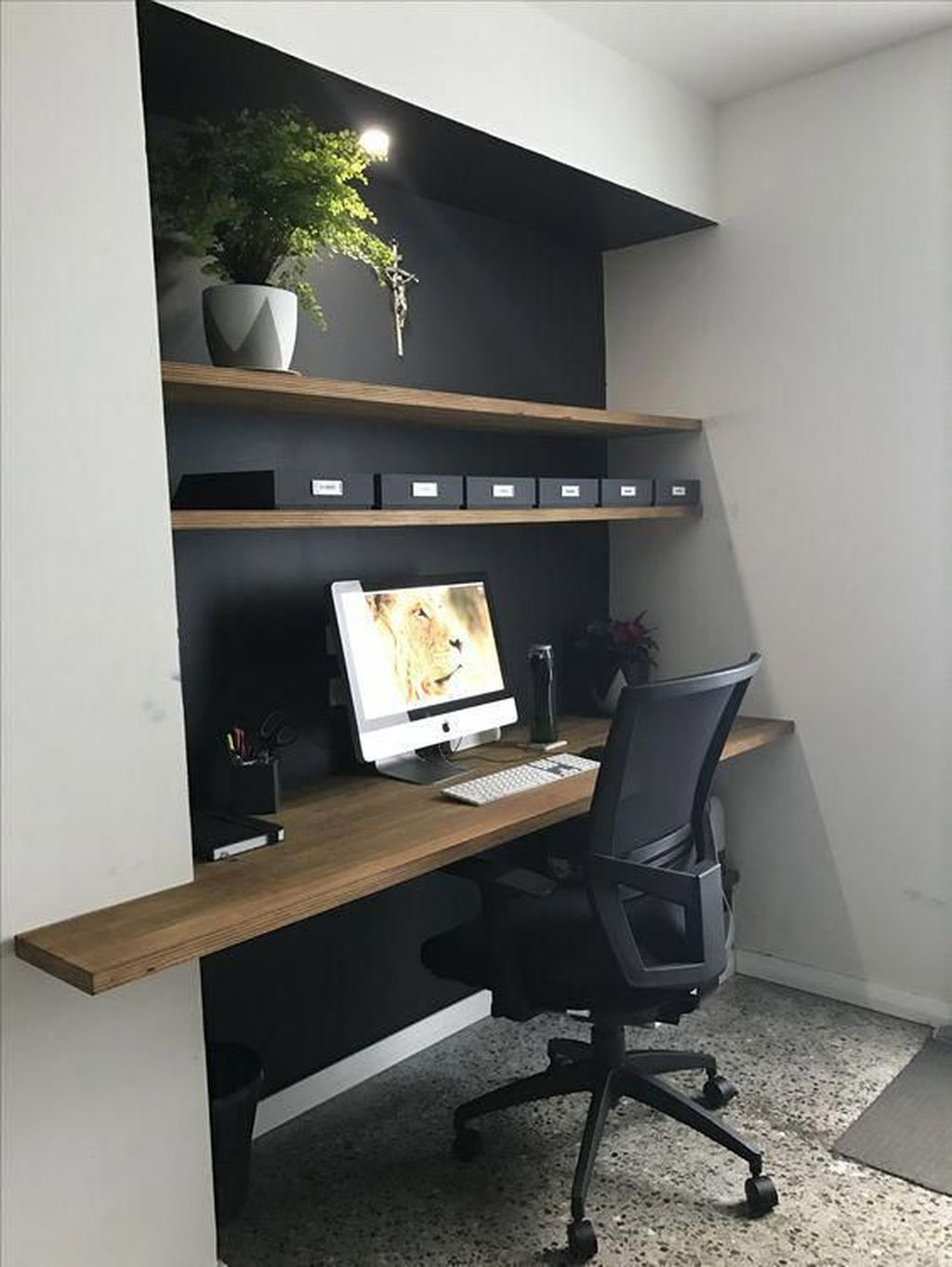 Amazing Contemporary Home Office Design Ideas 10