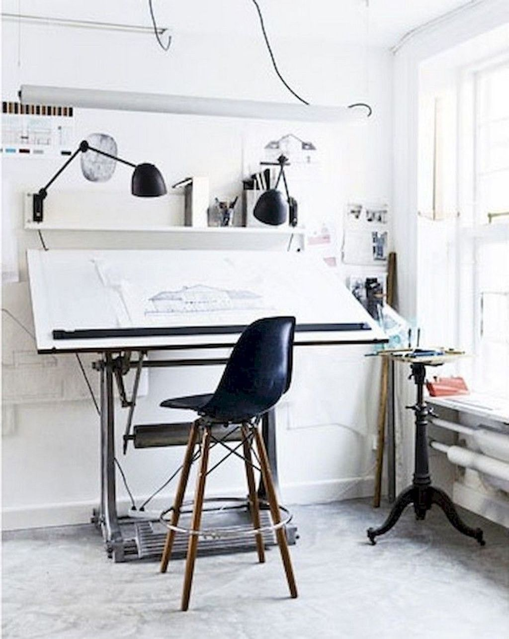 Amazing Contemporary Home Office Design Ideas 11