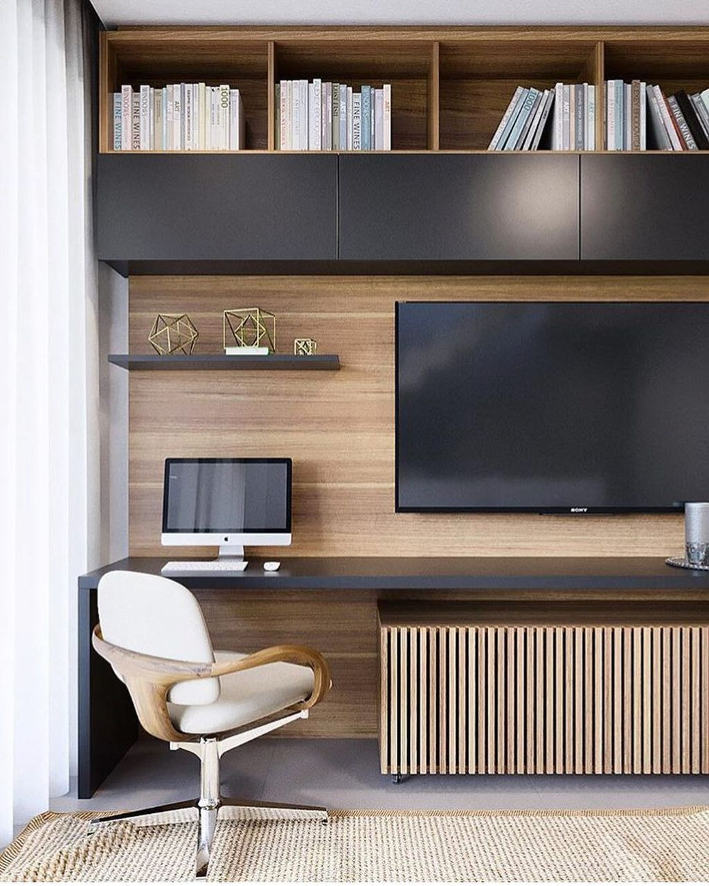 Amazing Contemporary Home Office Design Ideas 31