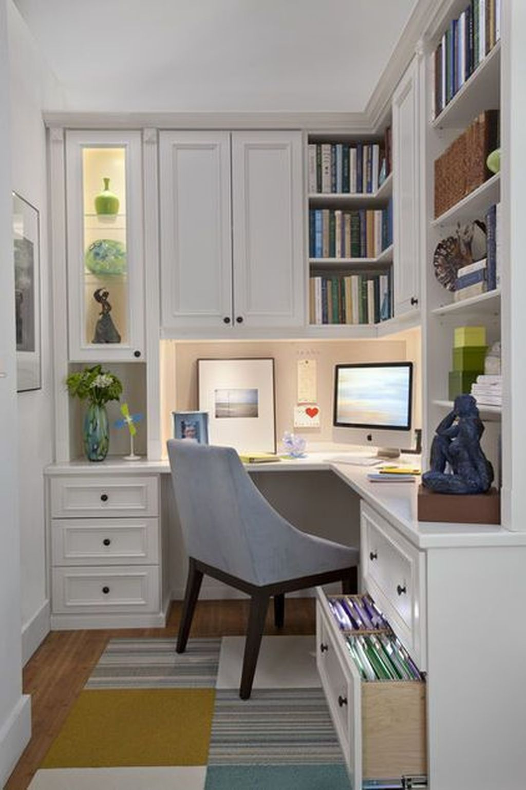 Amazing Contemporary Home Office Design Ideas 35