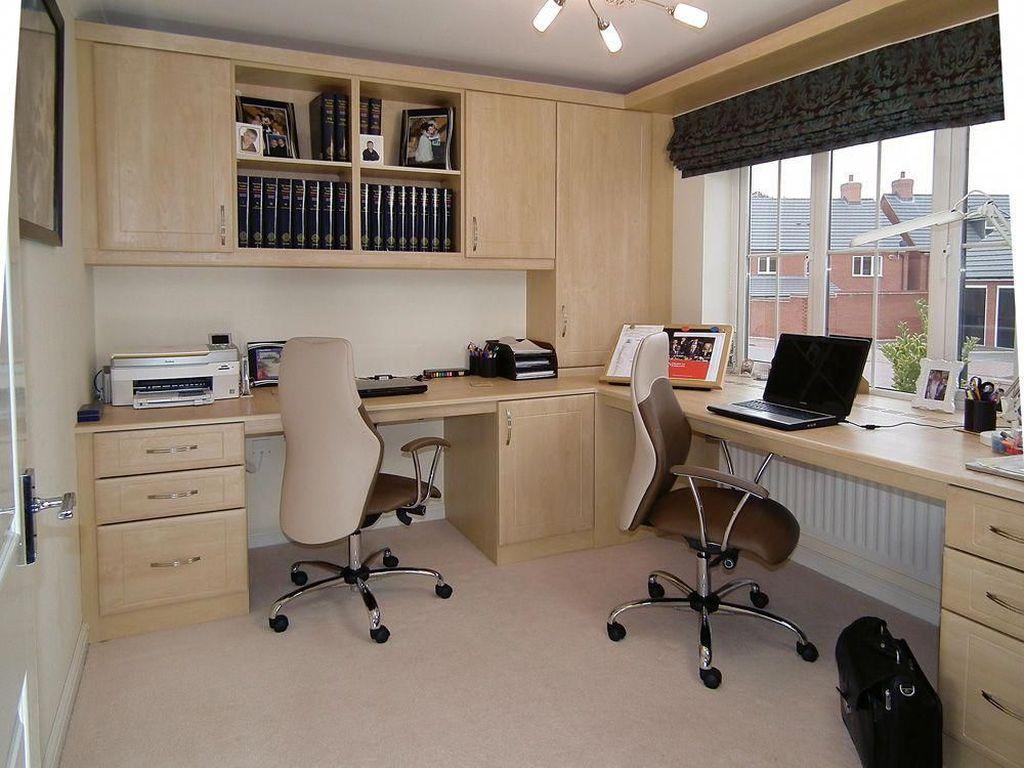 Amazing Contemporary Home Office Design Ideas 36