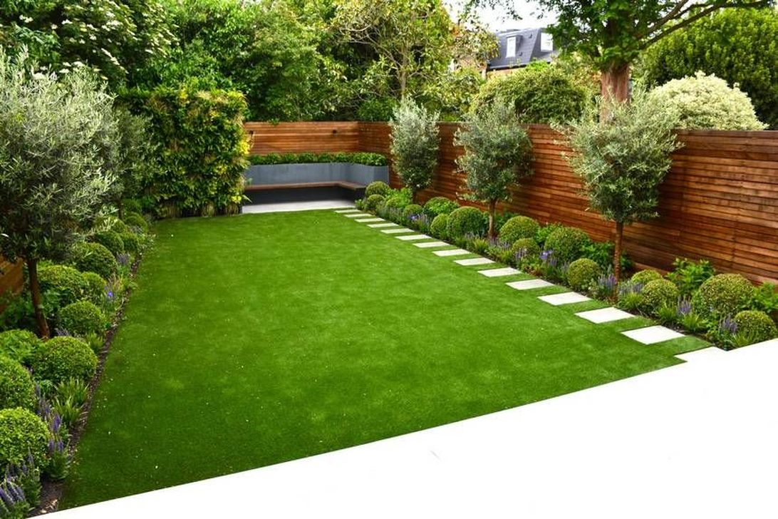 Awesome Backyard Landscaping Ideas With Elegant Accent 14