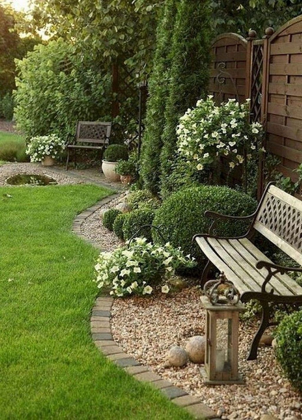 Awesome Backyard Landscaping Ideas With Elegant Accent 27