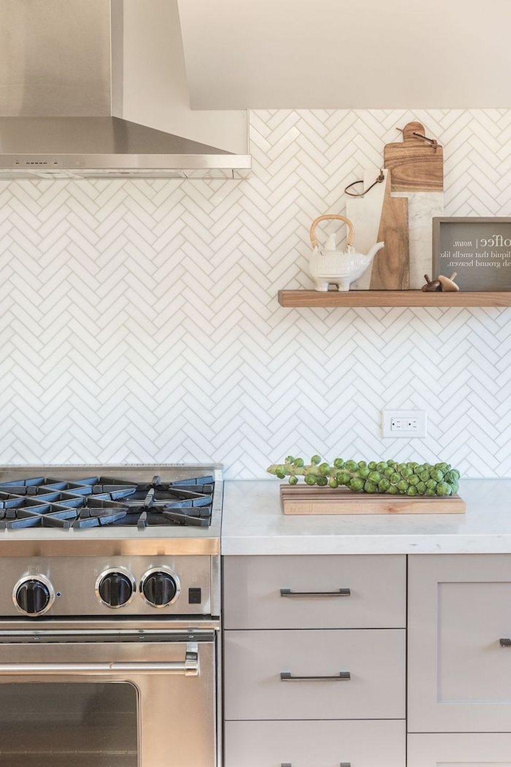 Awesome Creative Kitchen Backsplash Ideas 24