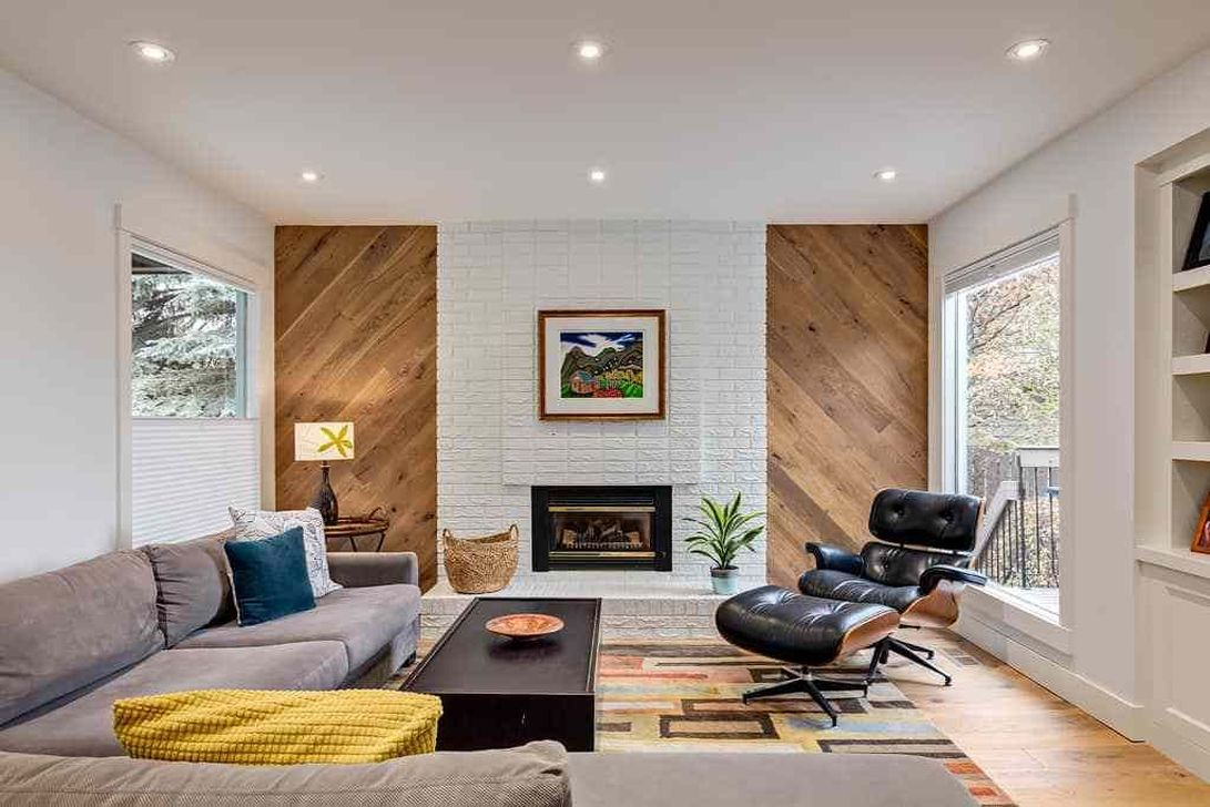 Awesome Modern Mid Century Living Room Decoration Ideas 27