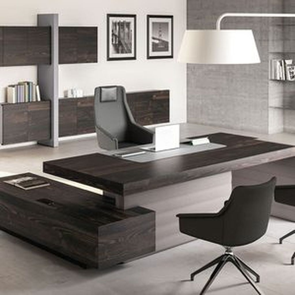 Awesome Modern Office Design Ideas 26