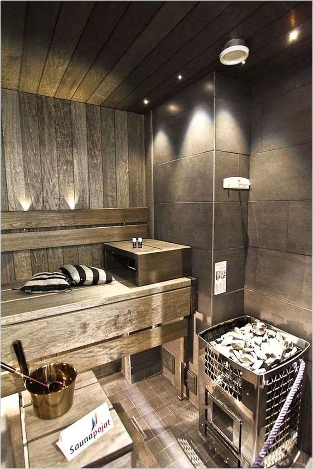 Beautiful Sauna Design Ideas For Your Bathroom 02