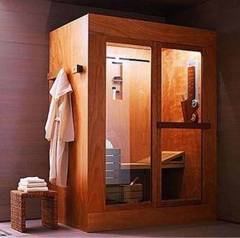 Beautiful Sauna Design Ideas For Your Bathroom 05