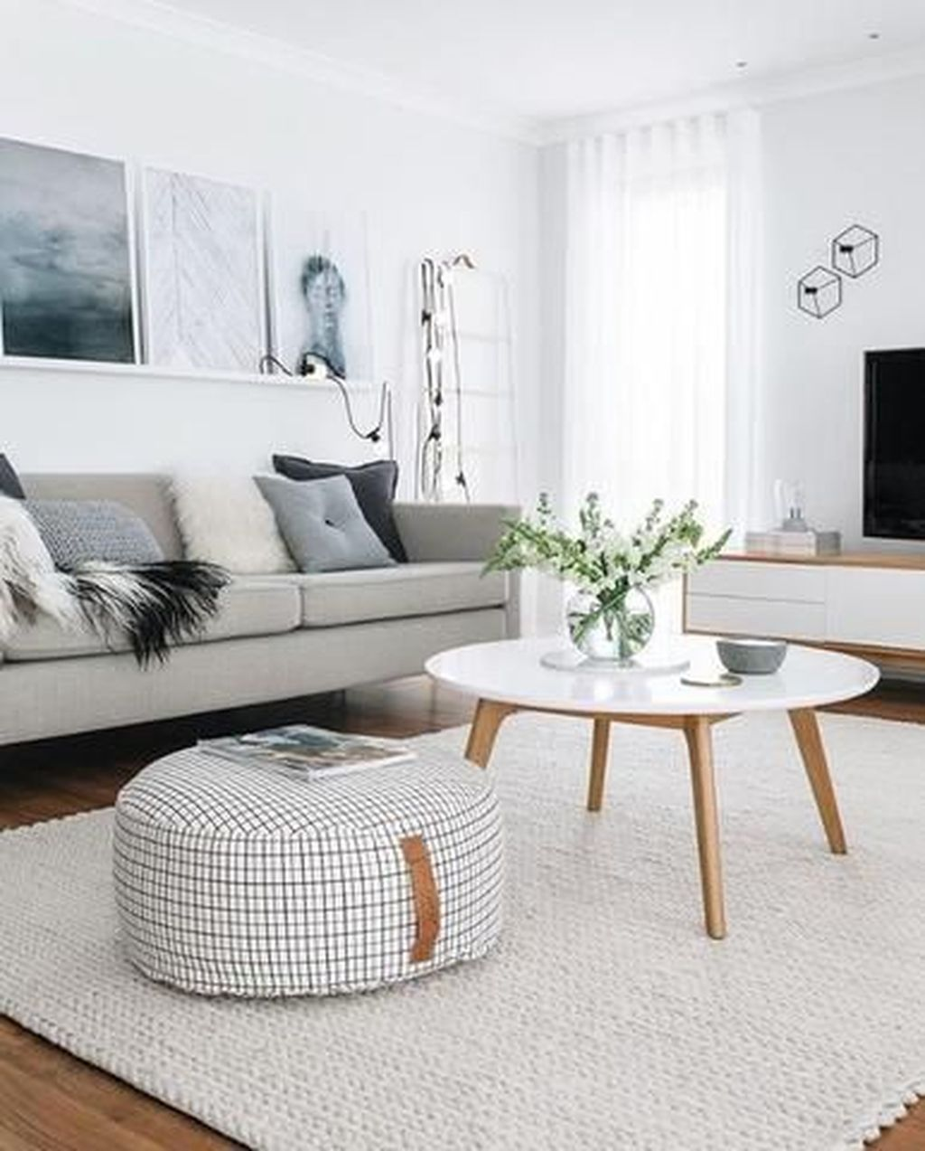 Beautiful Scandinavian Living Room Decoration Ideas 02