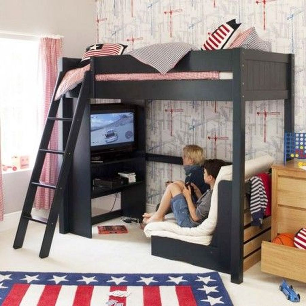 Cozy Boys Bedroom Decorating Ideas 17