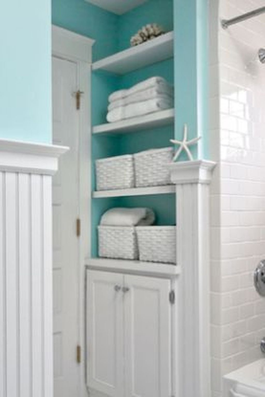Fabulous Bathroom Decor Ideas With Coastal Style 02