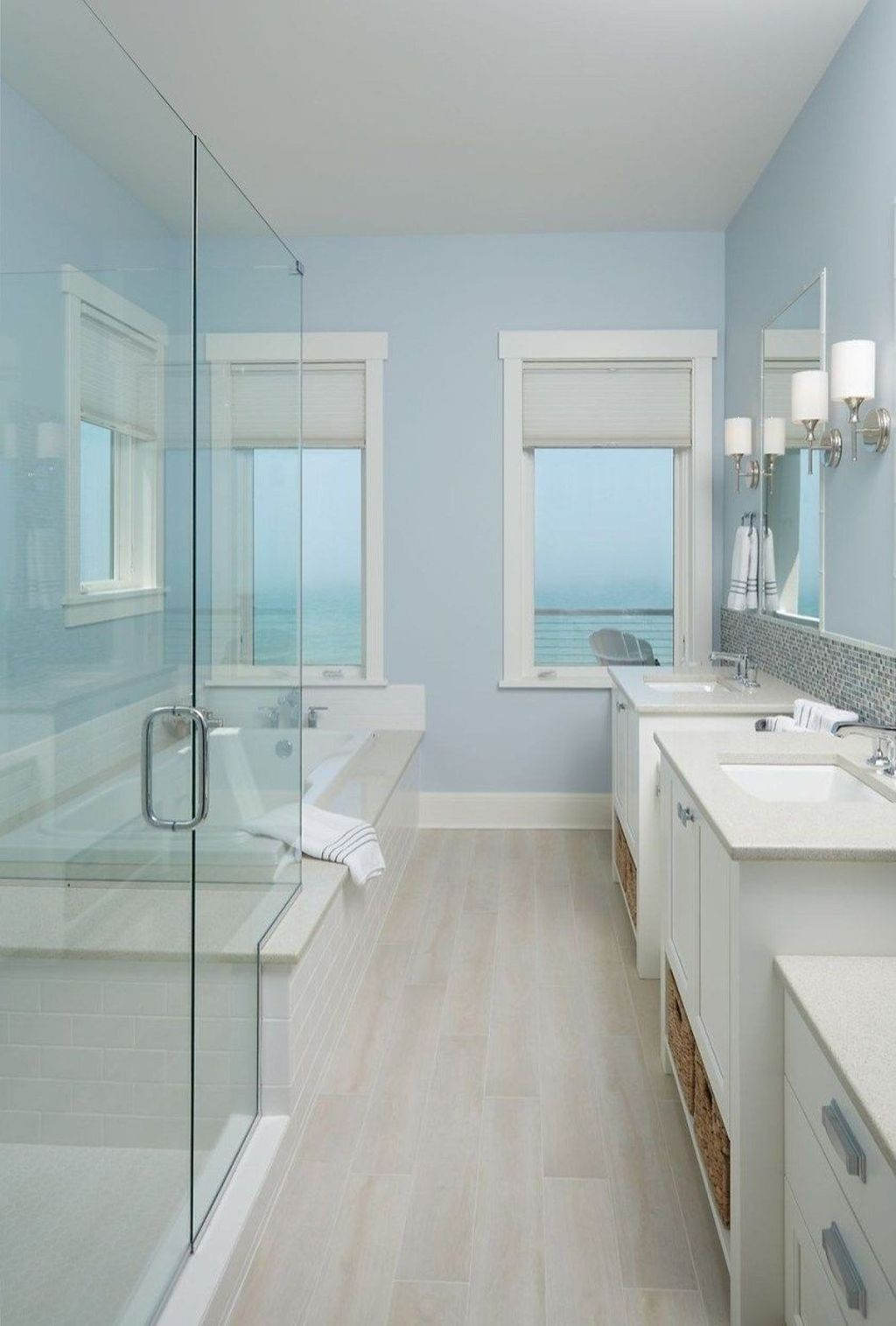 Fabulous Bathroom Decor Ideas With Coastal Style 09