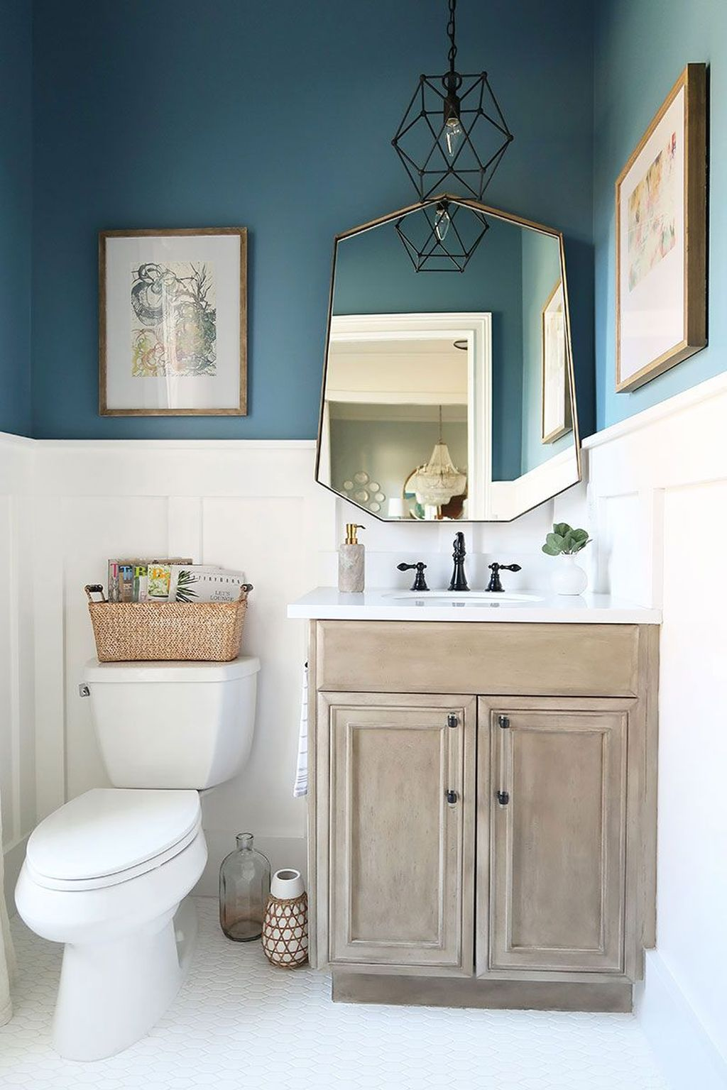 Fabulous Bathroom Decor Ideas With Coastal Style 12