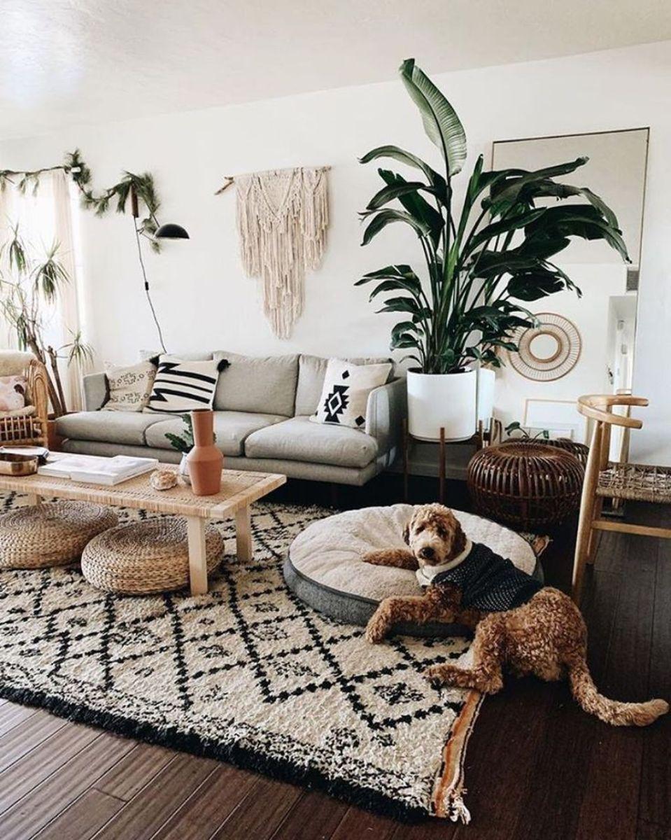 Fabulous Bohemian Living Room Decorating Ideas 02