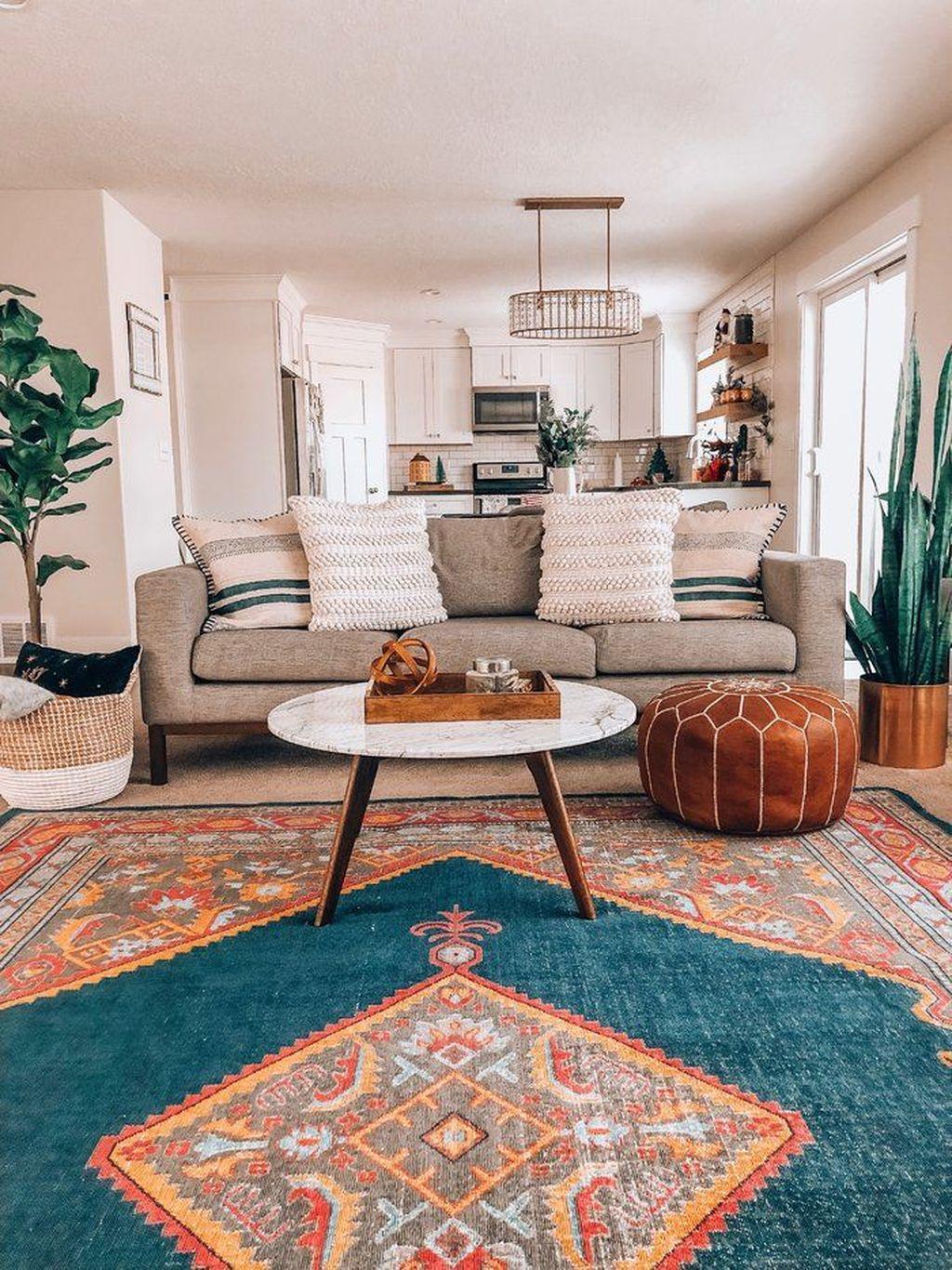 Fabulous Bohemian Living Room Decorating Ideas 06