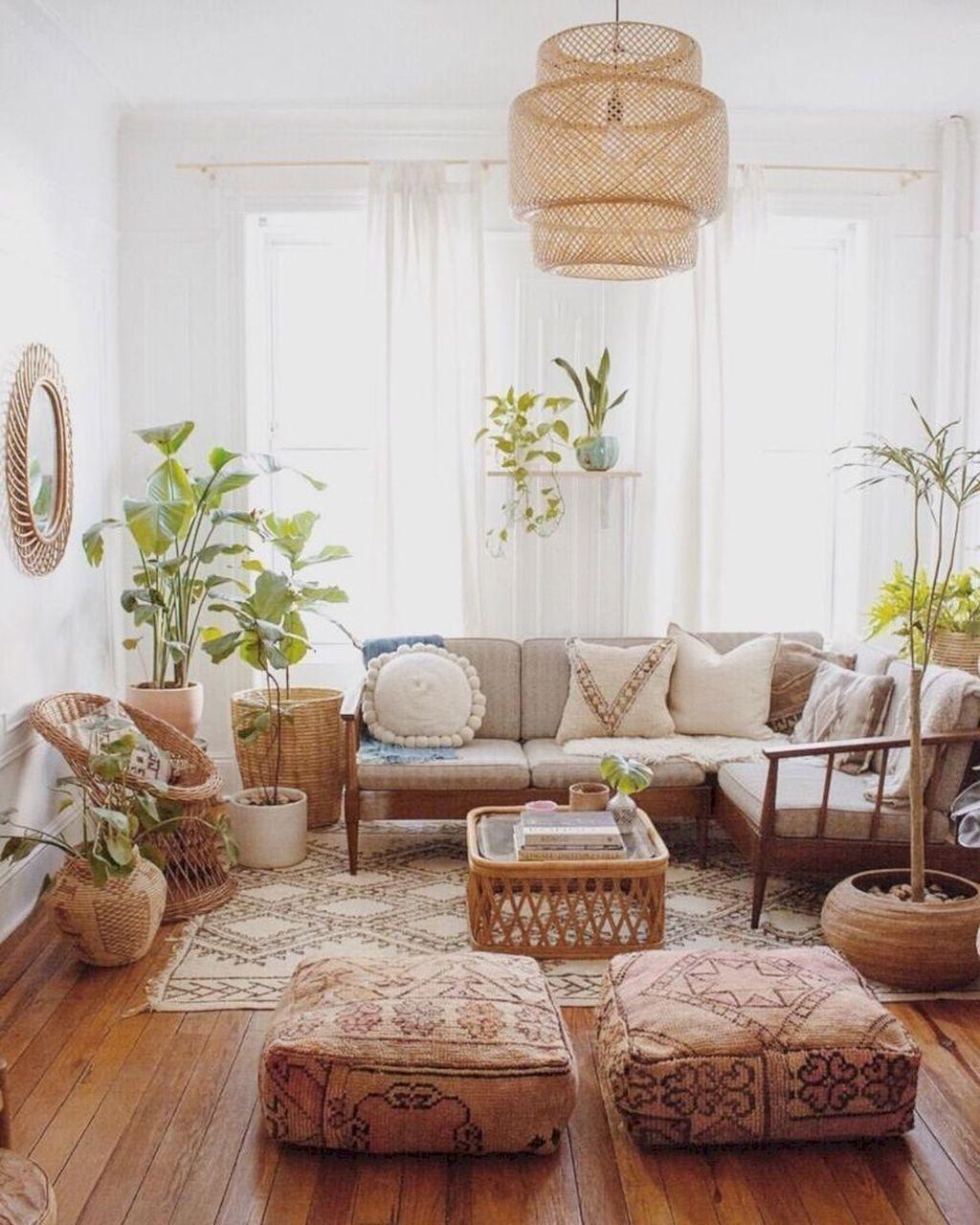 Fabulous Bohemian Living Room Decorating Ideas 34
