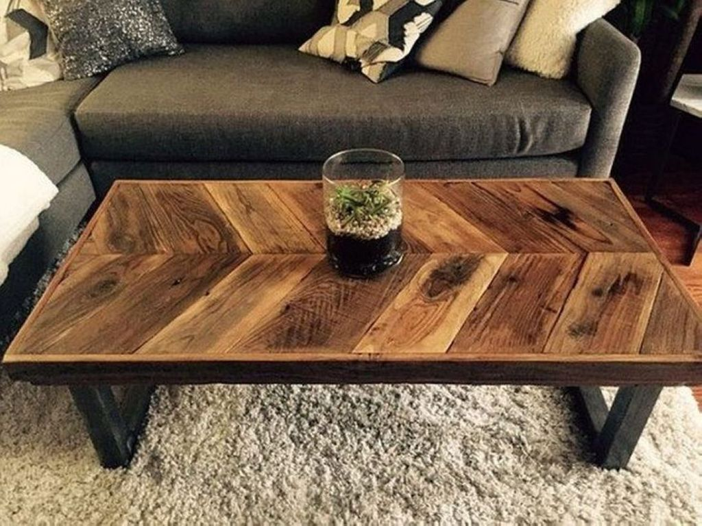 Gorgeous DIY Coffee Table Design Ideas 04
