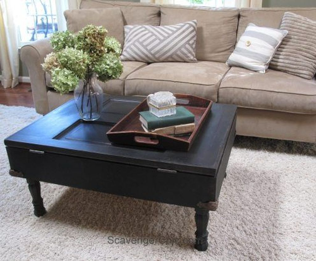 Gorgeous DIY Coffee Table Design Ideas 12