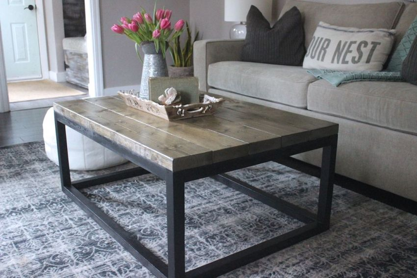 Gorgeous DIY Coffee Table Design Ideas 13