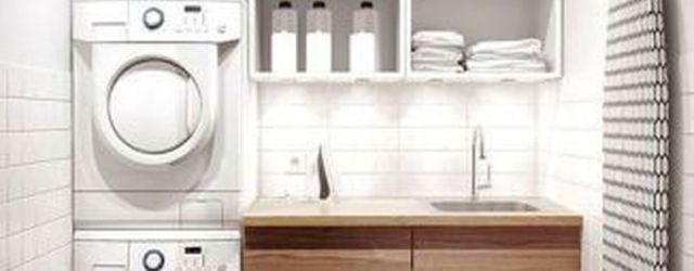 Inspiring Small Laundry Room Design And Decor Ideas 21