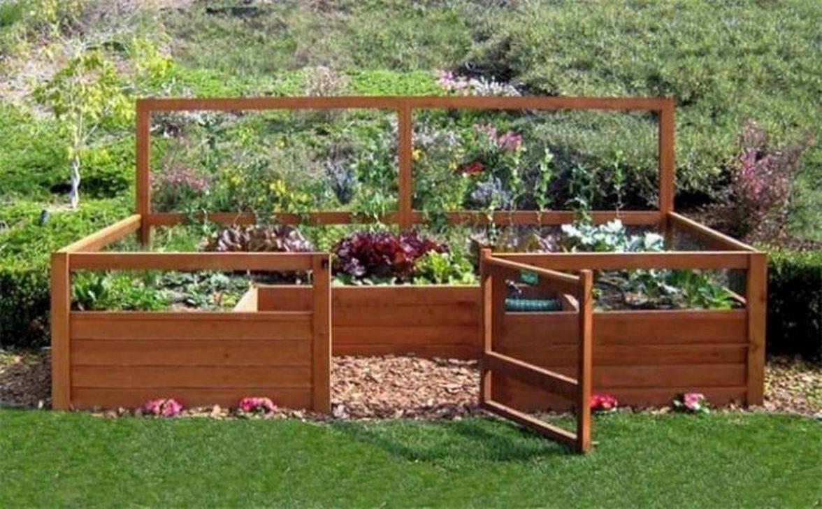 Inspiring Veggies Garden Layout For Your Outdoor Ideas 03