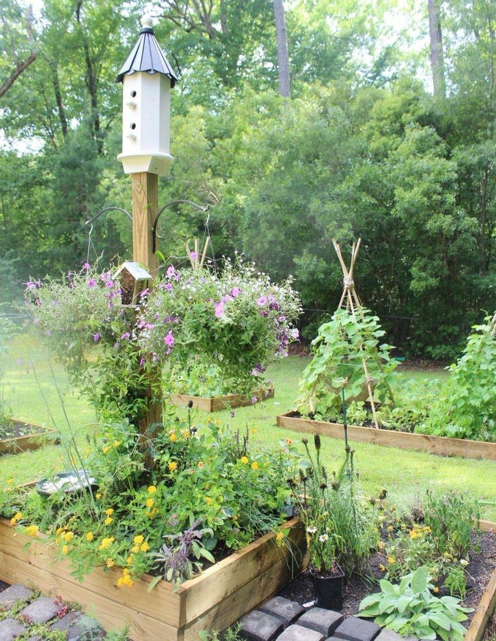 Inspiring Veggies Garden Layout For Your Outdoor Ideas 27