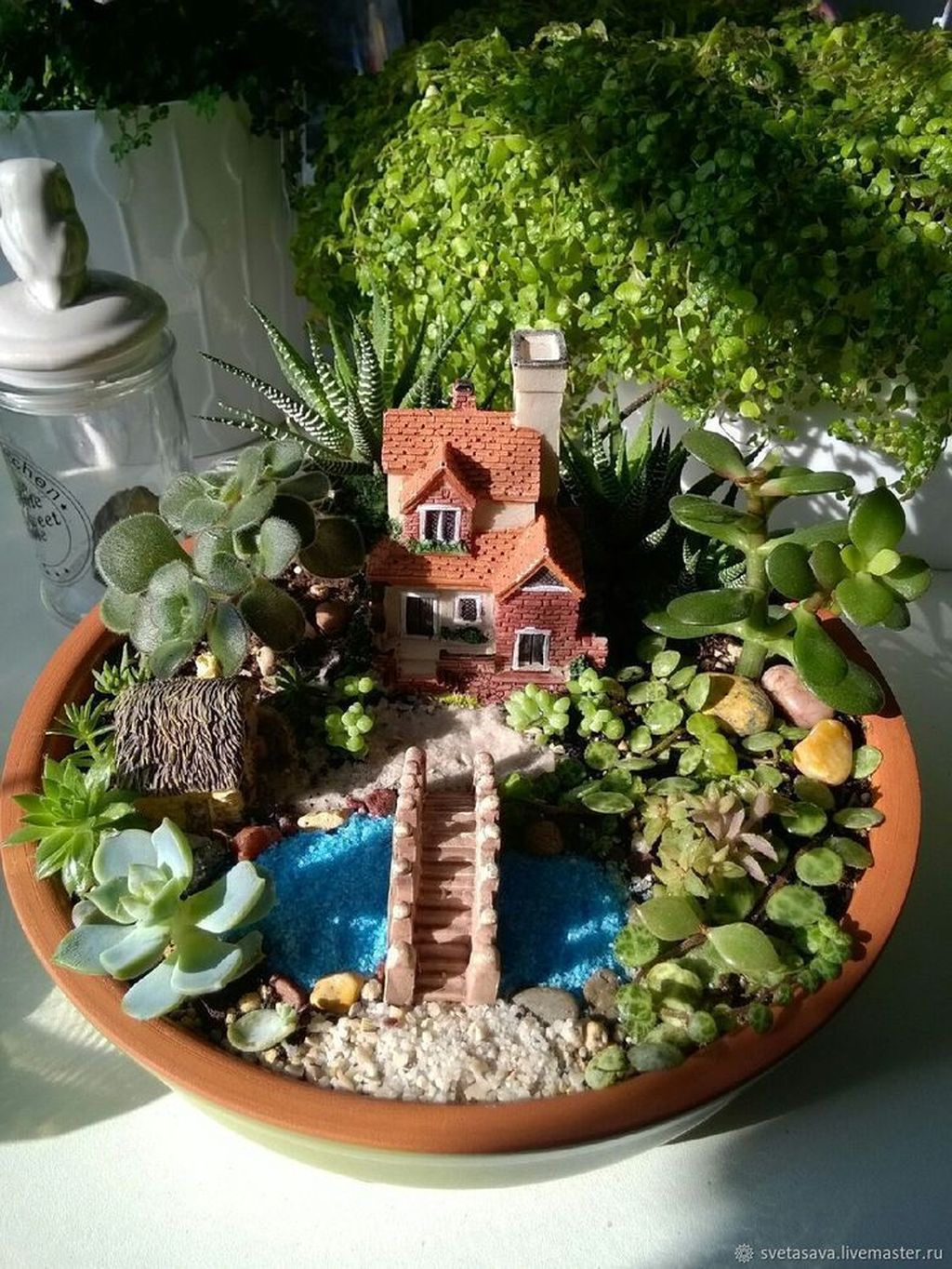 Lovely Beautiful Fairy Garden Design Ideas 22