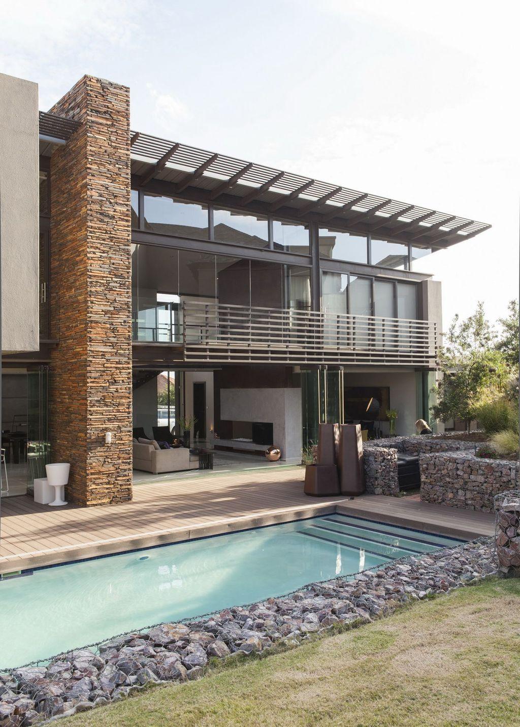 Lovely Modern Home Exterior Design Ideas 04