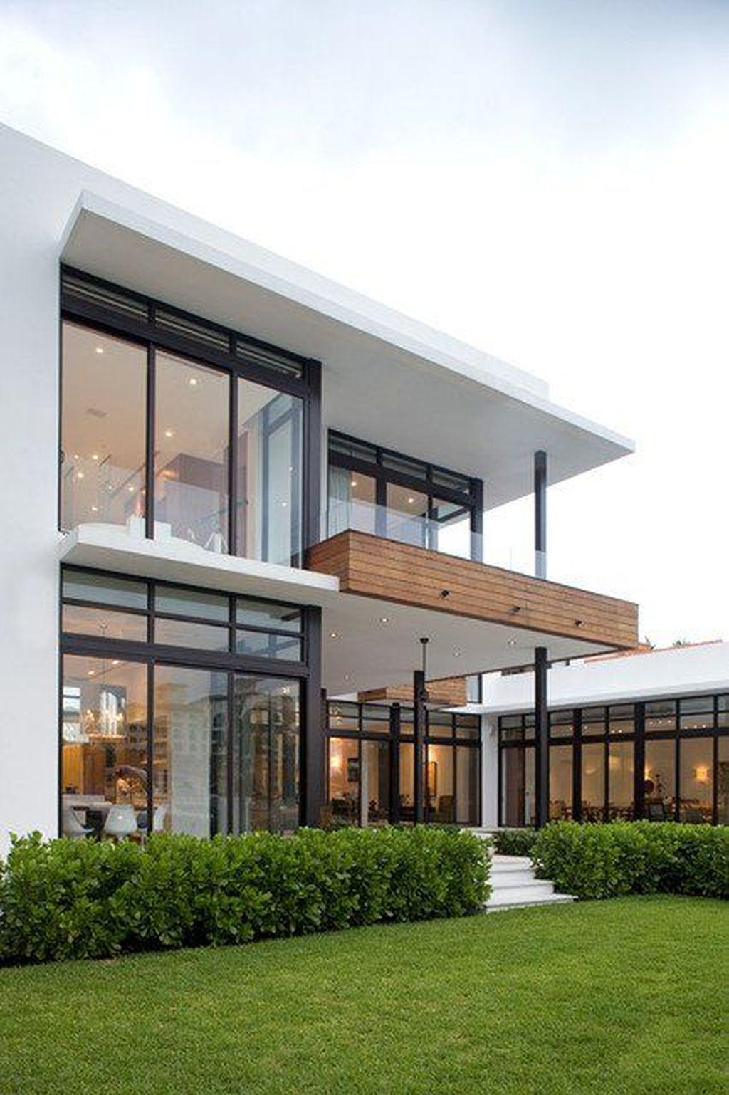 Lovely Modern Home Exterior Design Ideas 05