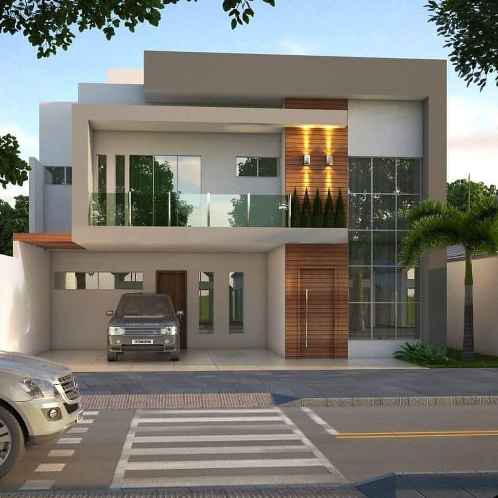 Lovely Modern Home Exterior Design Ideas 09