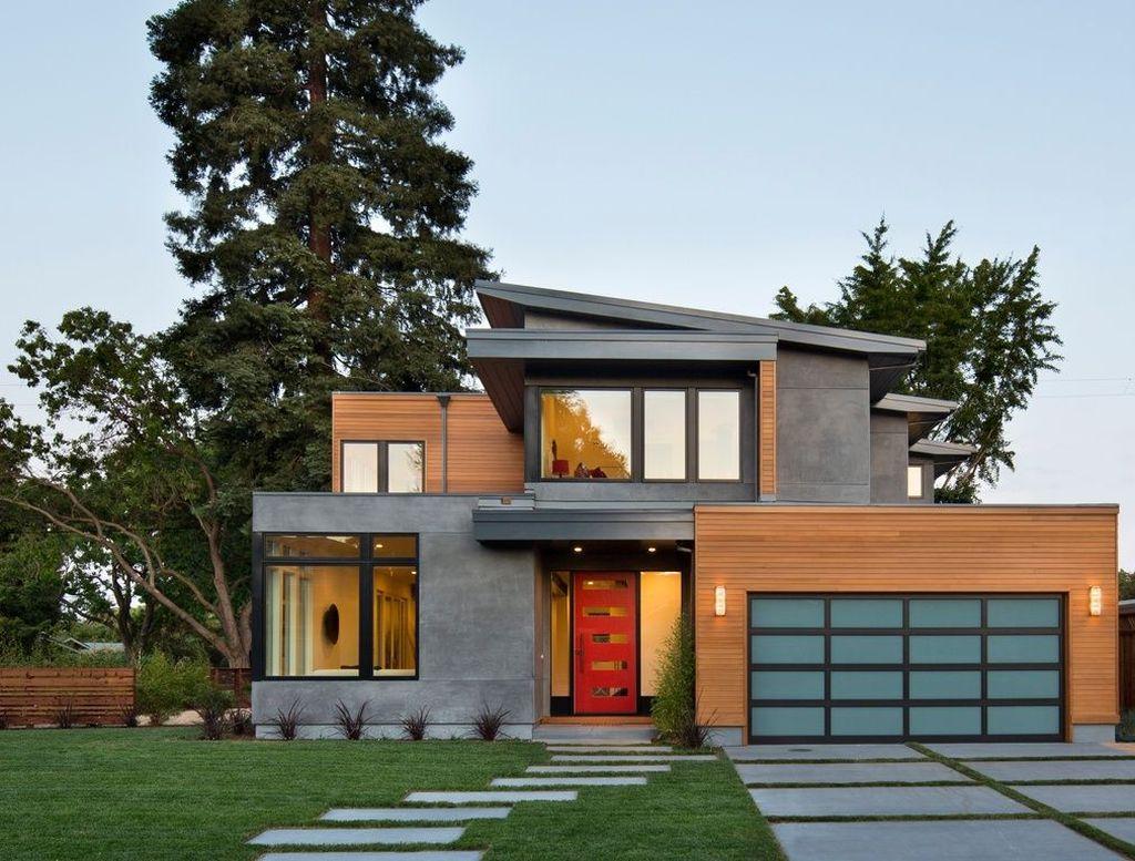 Lovely Modern Home Exterior Design Ideas 17