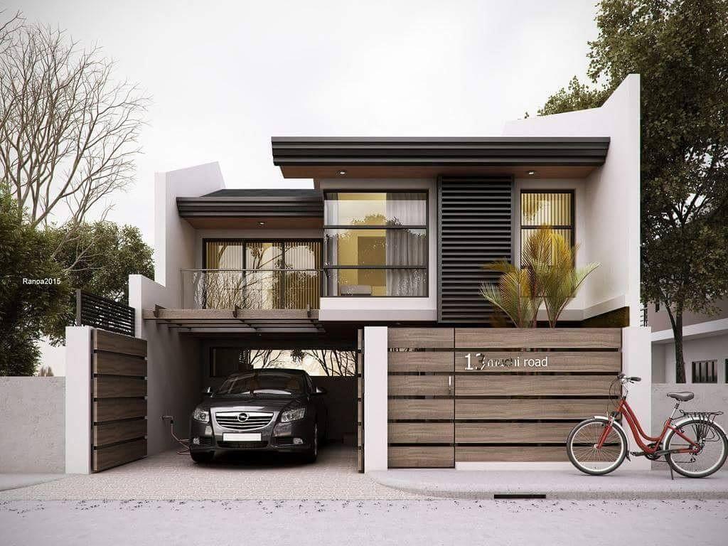 Lovely Modern Home Exterior Design Ideas 19