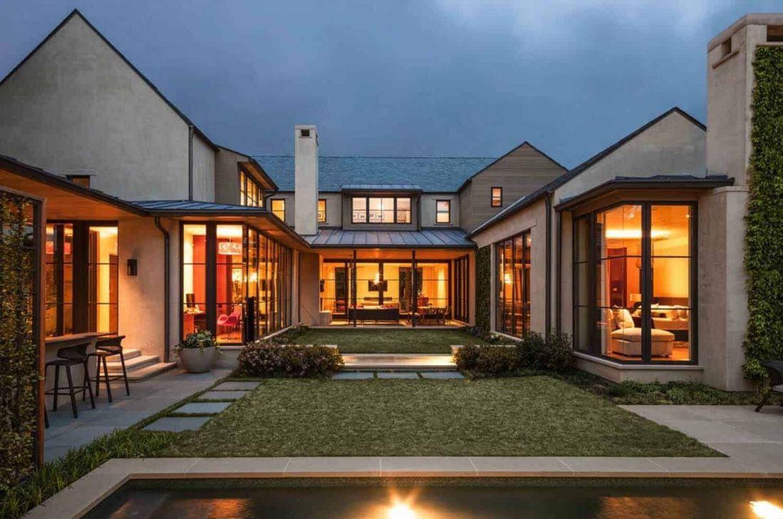 Lovely Modern Home Exterior Design Ideas 20