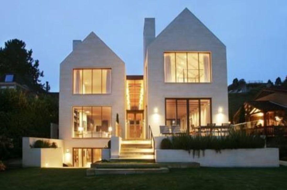 Lovely Modern Home Exterior Design Ideas 31