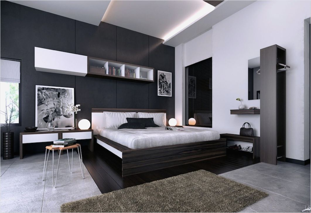 Popular Modern Man Bedroom With Elegant Look 02