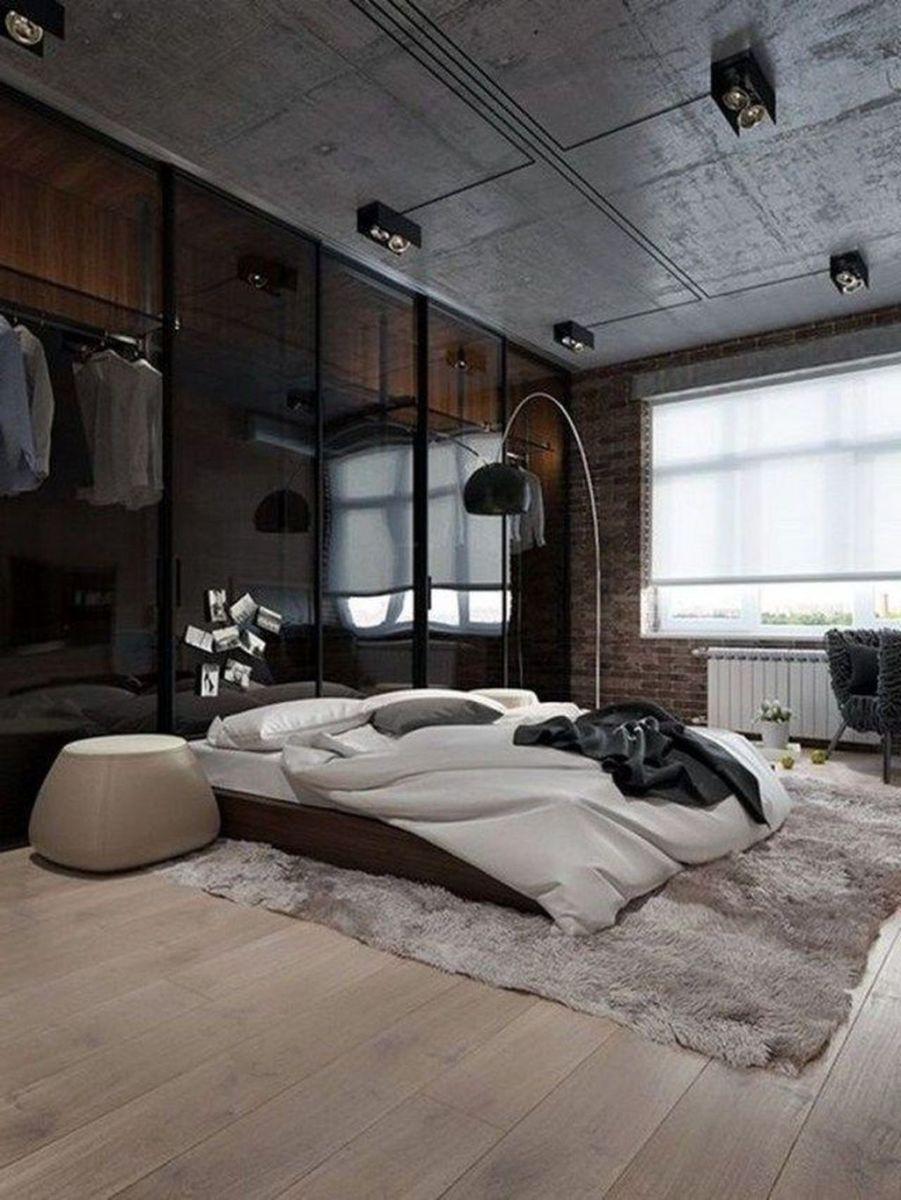 Popular Modern Man Bedroom With Elegant Look 06