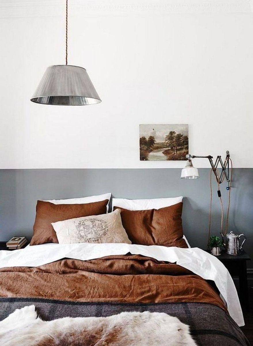 Popular Modern Man Bedroom With Elegant Look 20