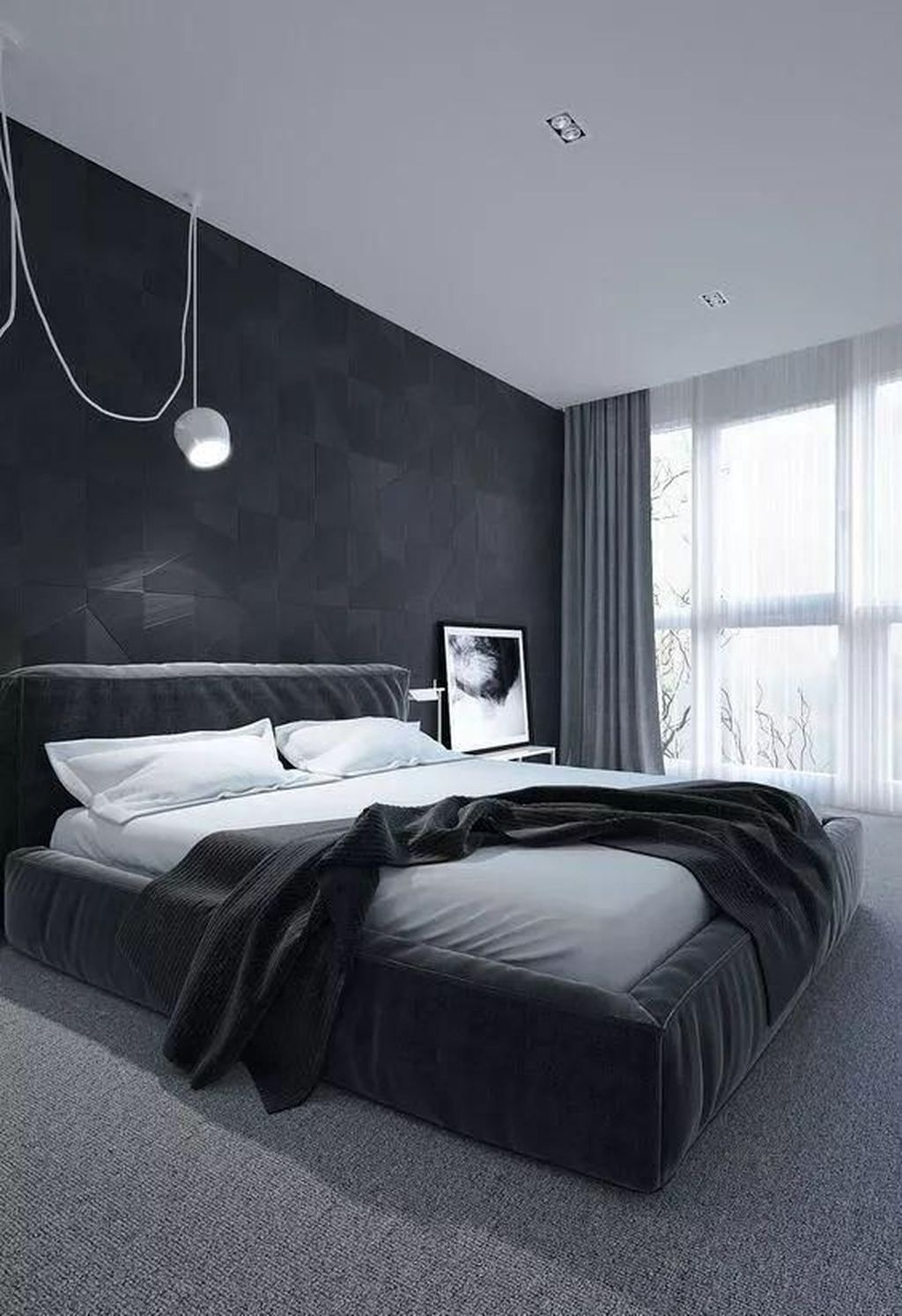 Popular Modern Man Bedroom With Elegant Look 21