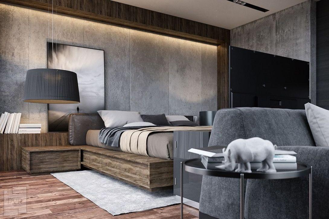 Popular Modern Man Bedroom With Elegant Look 25