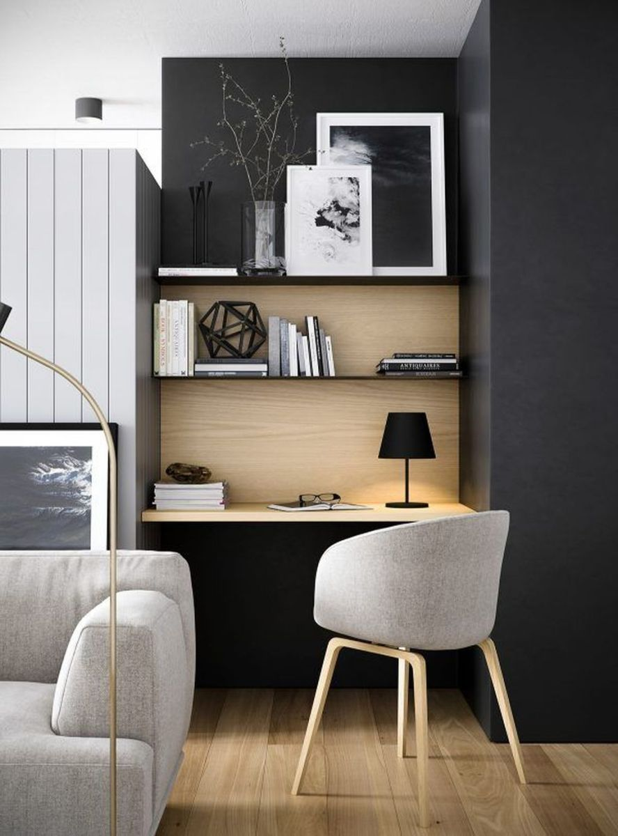 Stunning Modern Home Office Design Ideas 01