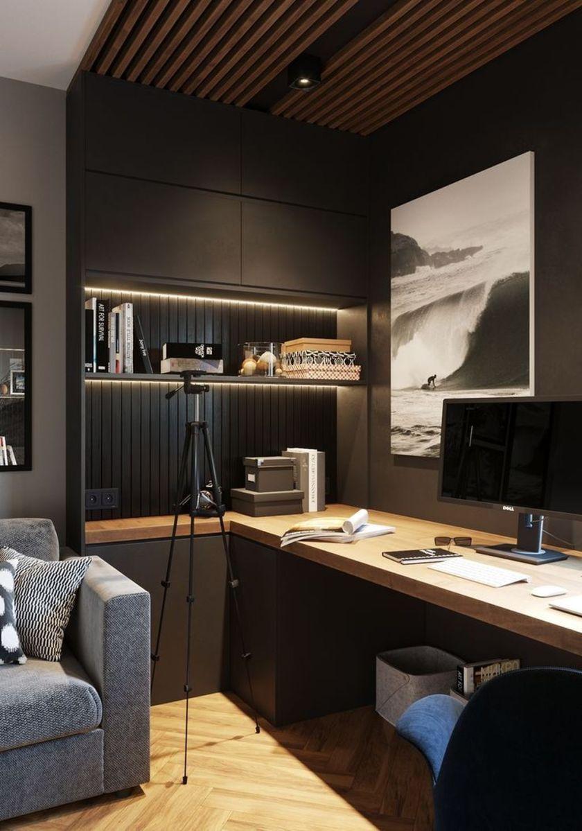 Stunning Modern Home Office Design Ideas 04