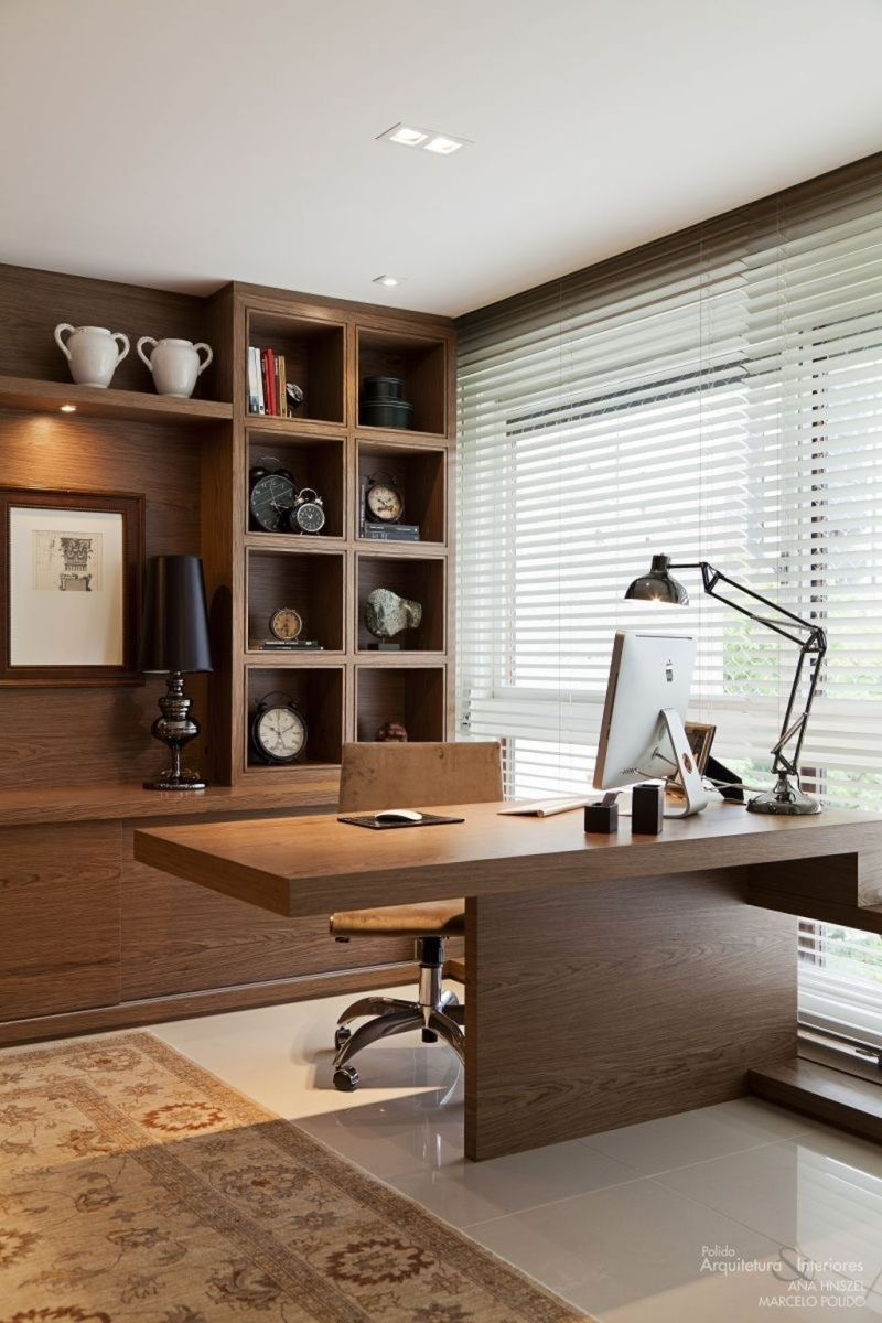 Stunning Modern Home Office Design Ideas 05