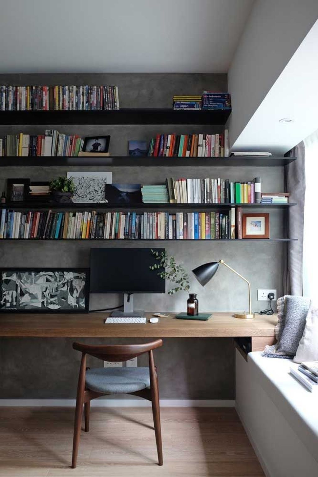 Stunning Modern Home Office Design Ideas 07