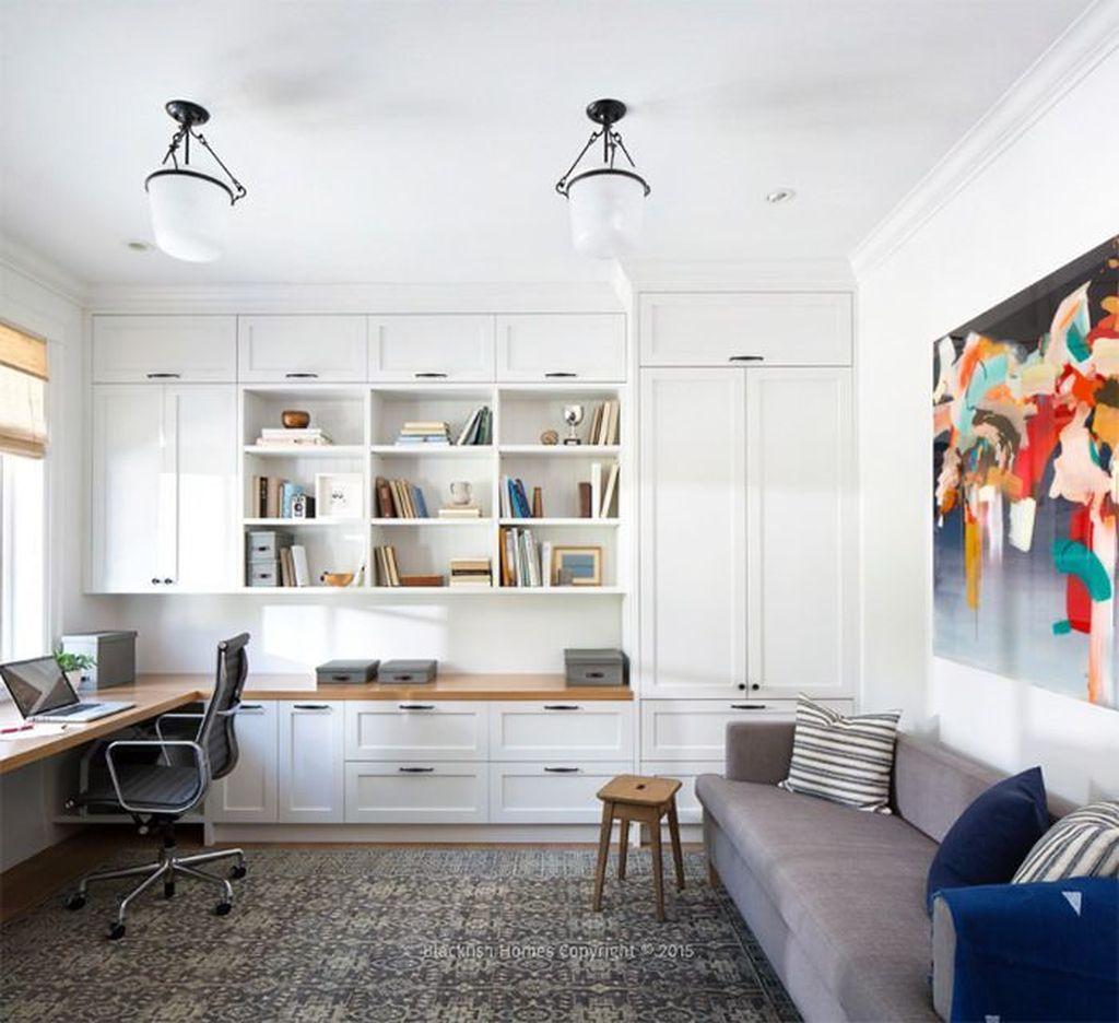 Stunning Modern Home Office Design Ideas 08
